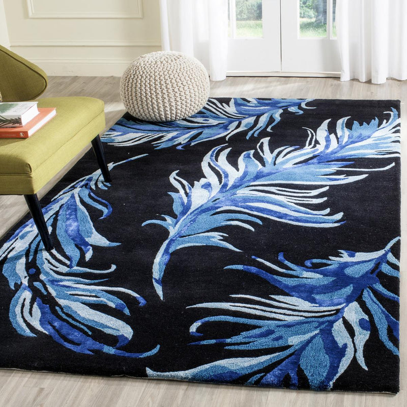Safavieh Rugs Alr-Allure ALR121B Black | Blue