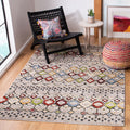 Safavieh Rugs Amsterdam AMS108G Light Grey | Multi