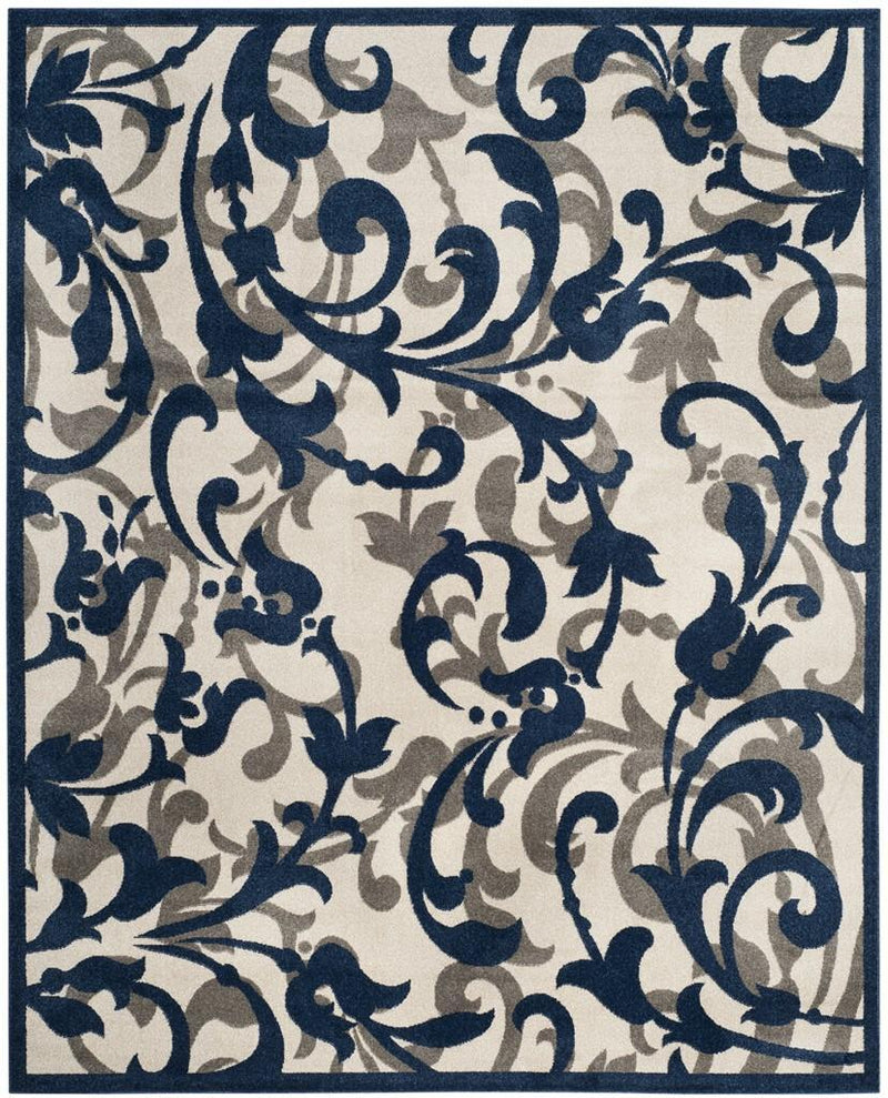 Safavieh Rugs Amherst AMT428M Ivory | Navy