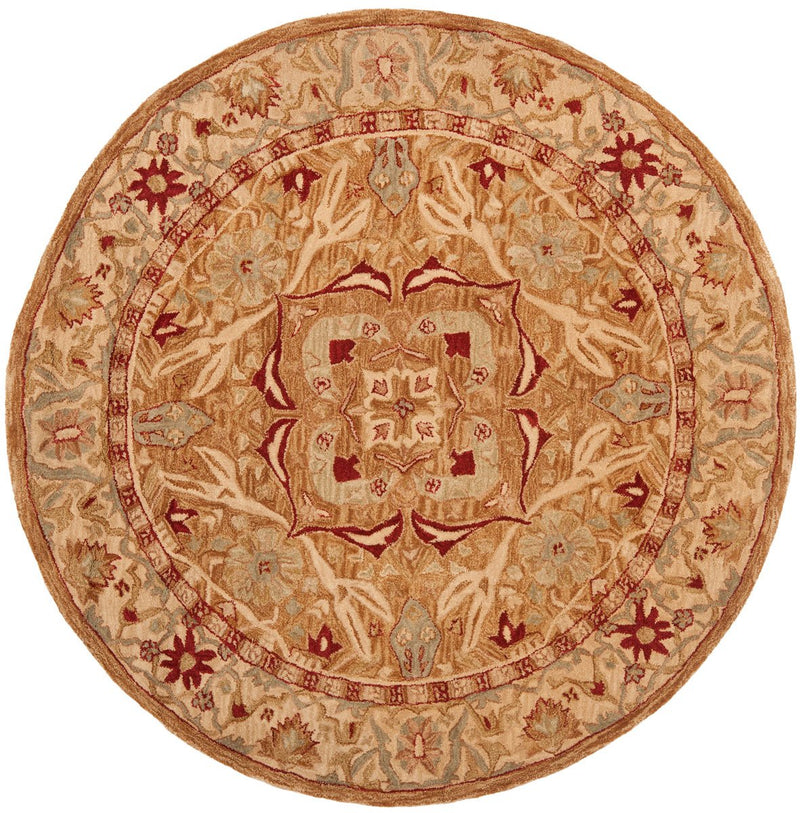 Safavieh Rugs Anatolia AN515A Strawberry | Ivory