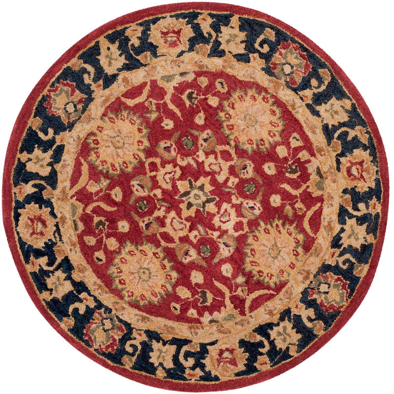 Safavieh Rugs Anatolia AN517A Red | Navy