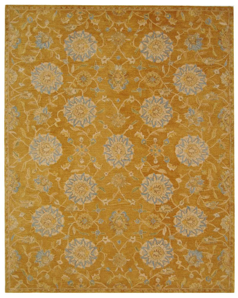 Safavieh Rugs Anatolia AN537C Gold | Blue