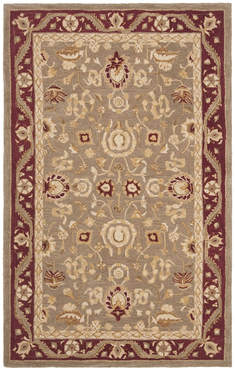 Safavieh Rugs Anatolia AN548A Light Green | Red
