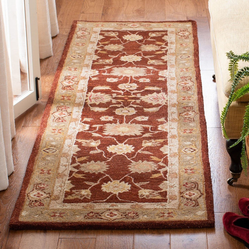 Safavieh Rugs Anatolia AN556F Red | Sage
