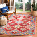 Safavieh Rugs Aspen APN803Q Red | Blue