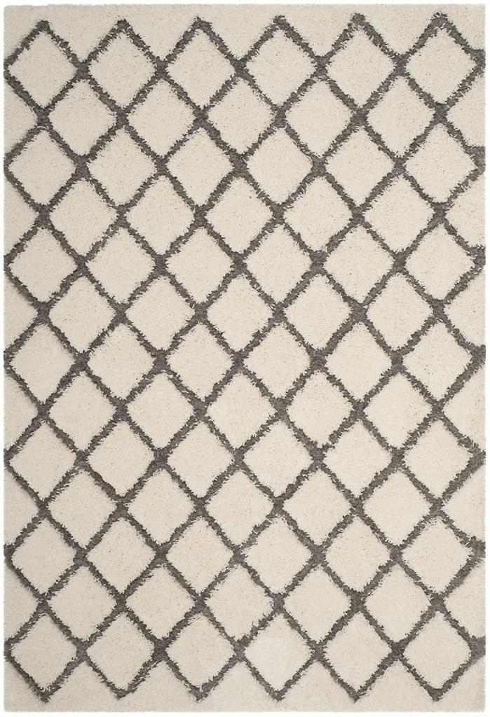 Safavieh Rugs Adriana Shag ARG780C Cream | Grey