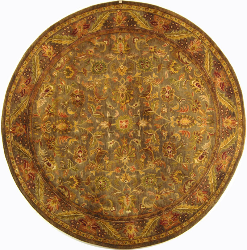 Safavieh Rugs Antiquity AT52C Blue | Gold