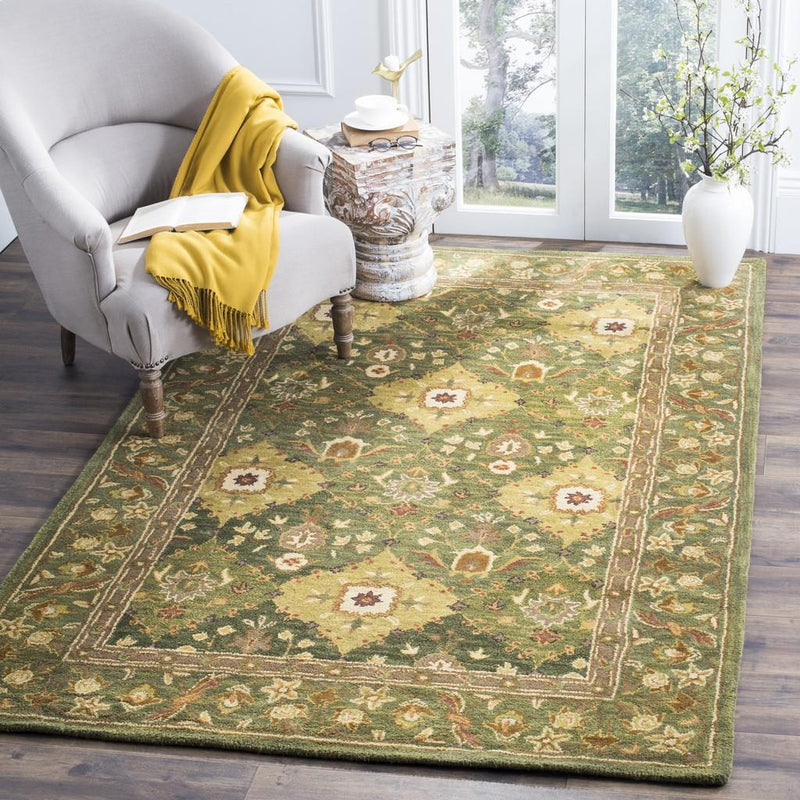 Safavieh Rugs Antiquity AT57C Olive