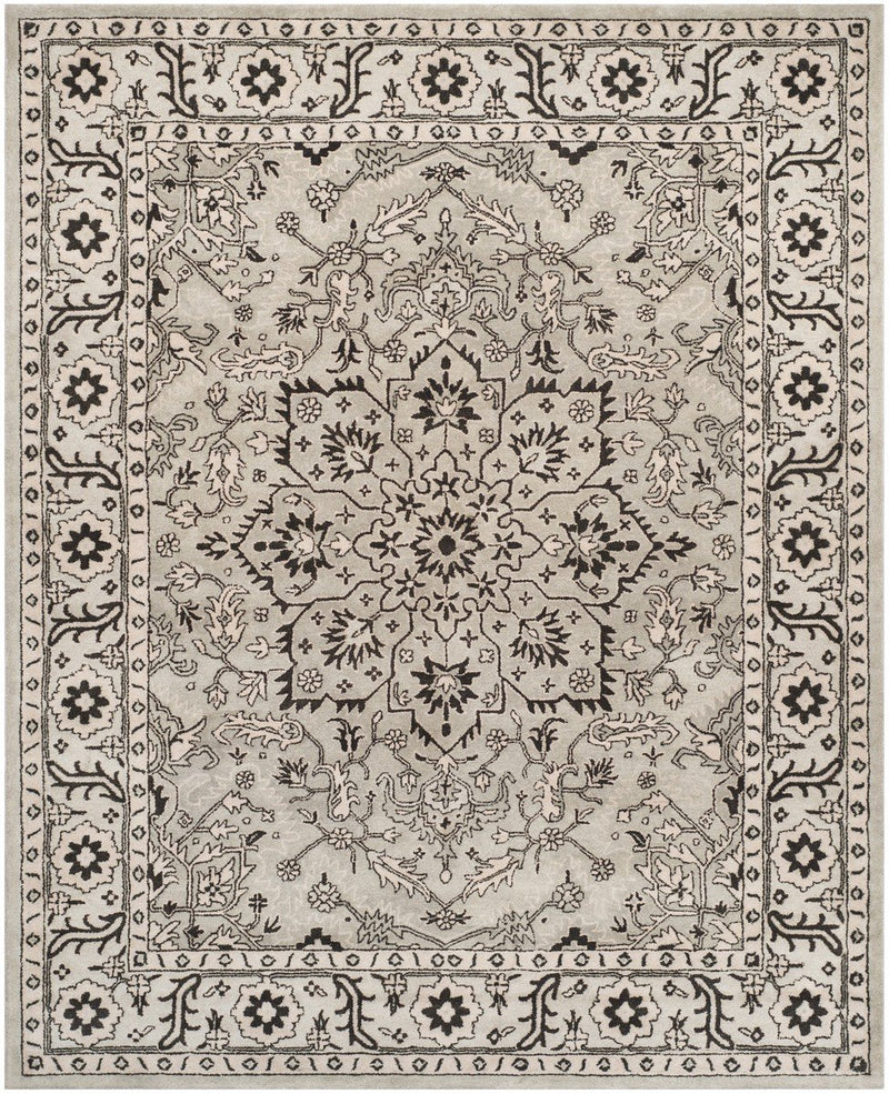 Safavieh Rugs Antiquity AT58A Grey | Beige