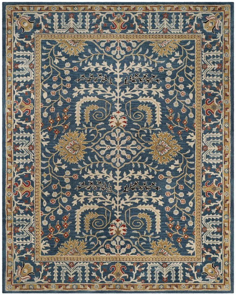 Safavieh Rugs Antiquity AT64B Dark Blue | Multi