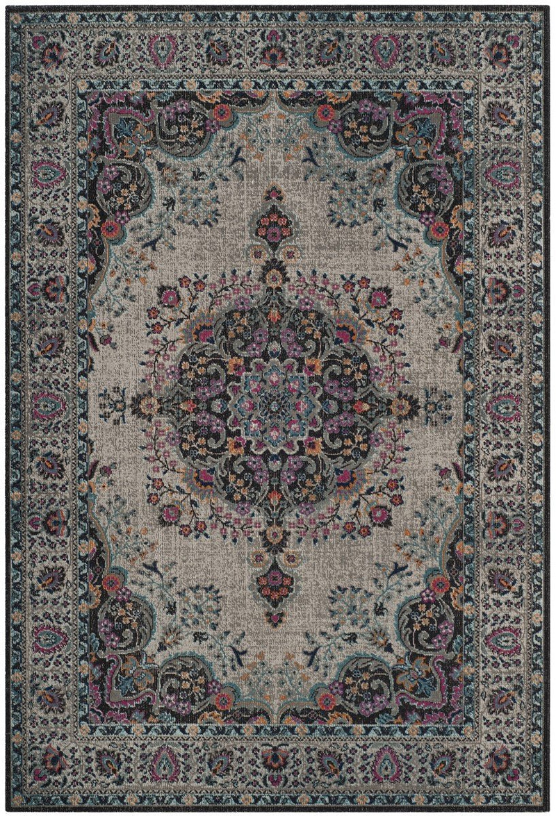 Safavieh Rugs Artisan ATN334L Light Grey | Black