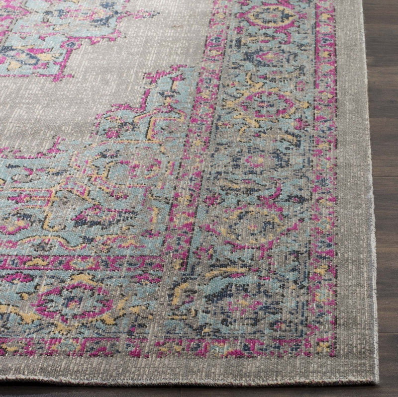 Safavieh Rugs Artisan ATN510G Light Grey | Light Blue