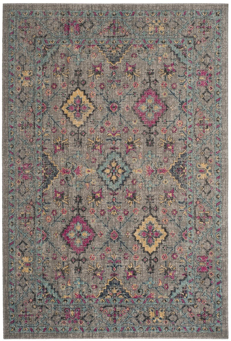 Safavieh Rugs Artisan ATN513G Light Grey | Light Blue