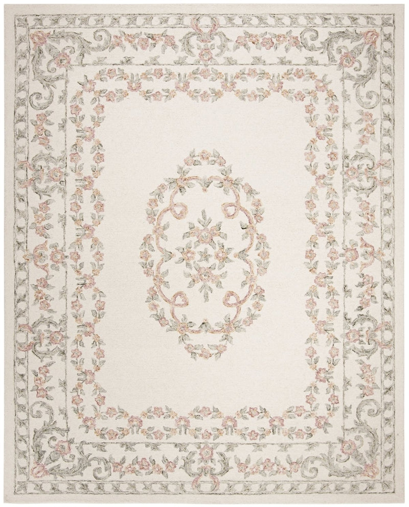 Safavieh Rugs Aubusson AUB102A Ivory | Pink
