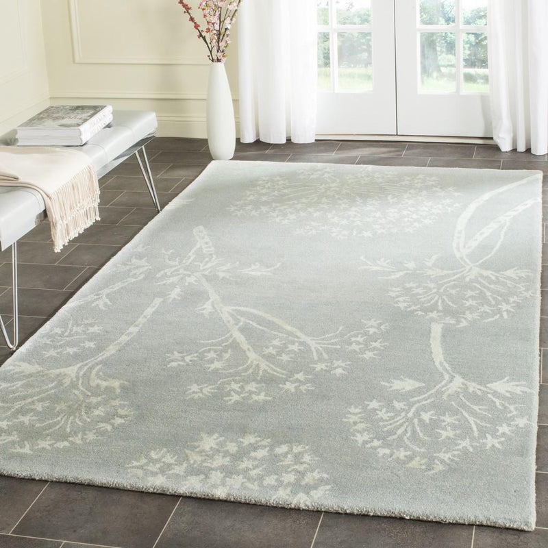 Safavieh Rugs Bella BEL131A Light Blue | Ivory