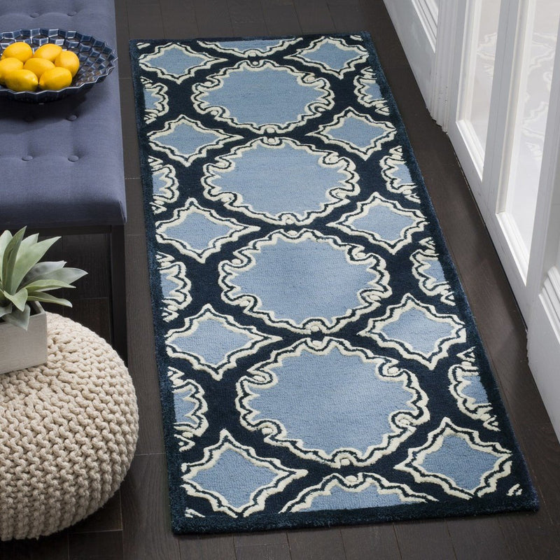Safavieh Rugs Bella BEL139B Navy | Blue