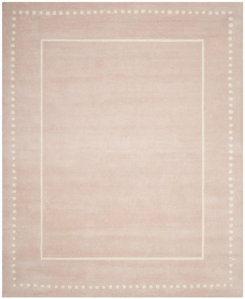 Safavieh Rugs Bella BEL151M Light Pink | Ivory
