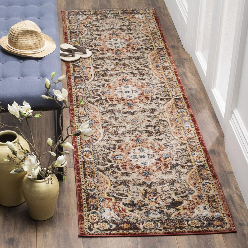 Safavieh Rugs Bijar BIJ648D Brown | Rust