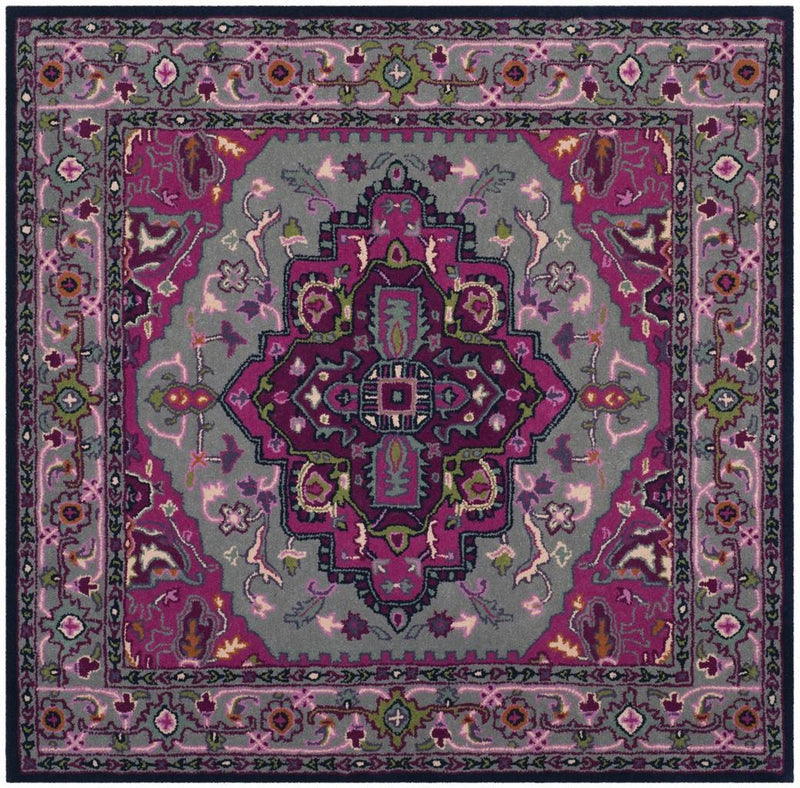 Safavieh Rugs Bellagio BLG541B Grey | Pink