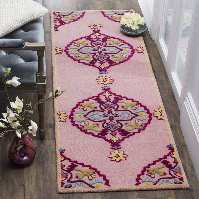 Safavieh Rugs Bellagio BLG605A Pink | Multi