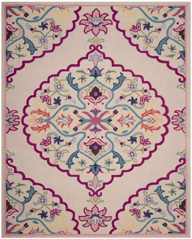 Safavieh Rugs Bellagio BLG605E Light Pink | Multi