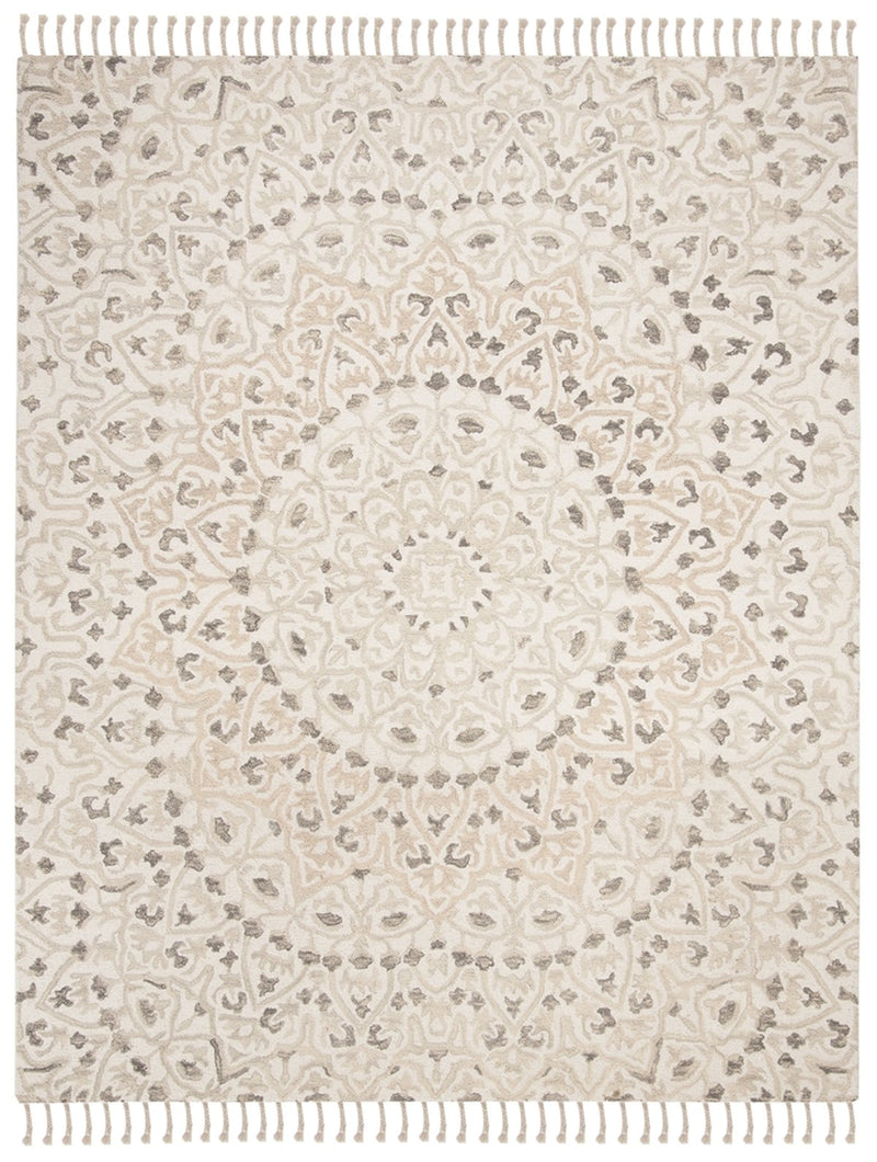 Safavieh Rugs Blossom BLM459A Ivory | Taupe