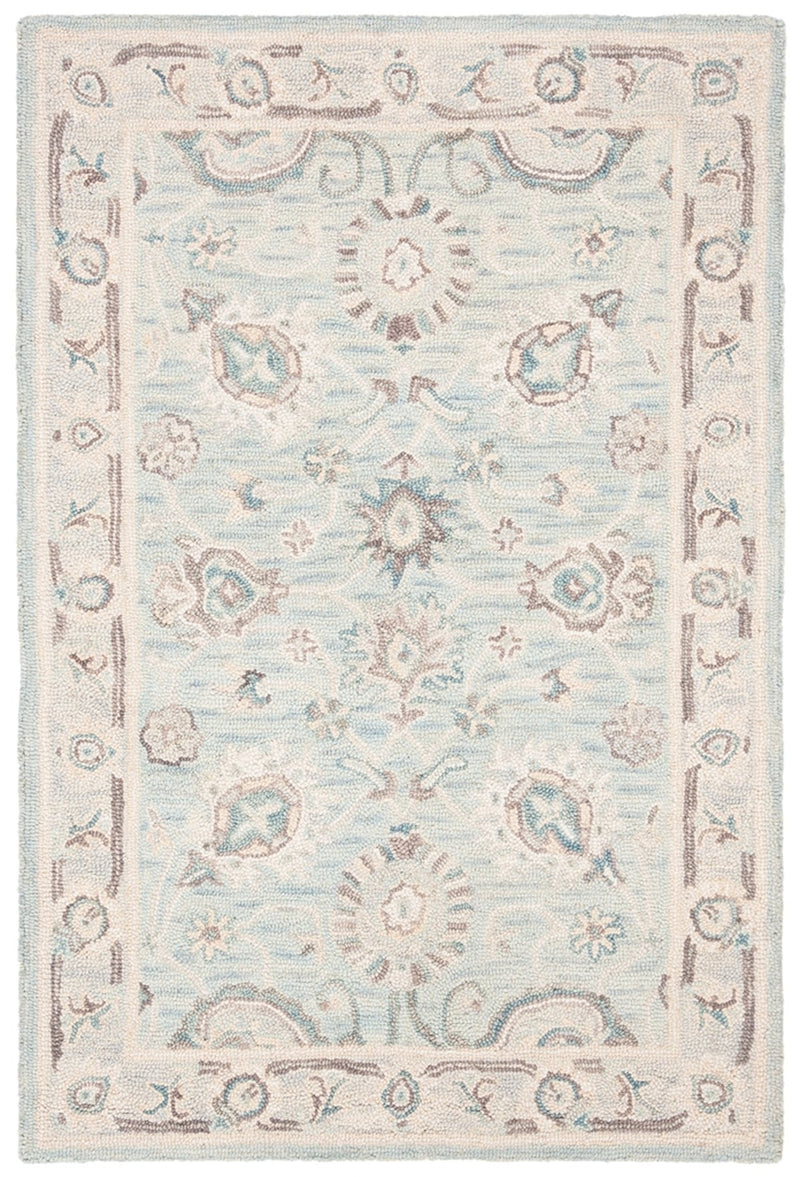 Safavieh Rugs Blossom BLM702F Grey | Multi