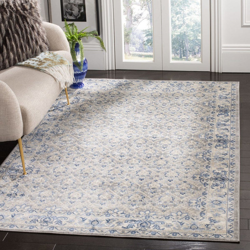 Safavieh Rugs Brentwood BNT869G Light Grey | Blue
