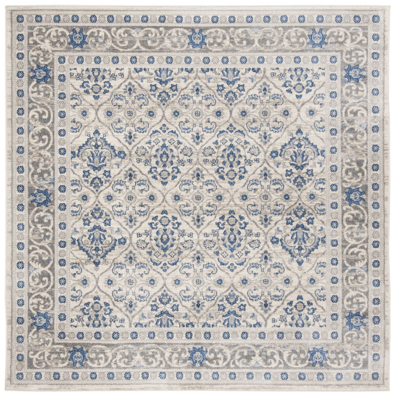 Safavieh Rugs Brentwood BNT870G Light Grey | Blue