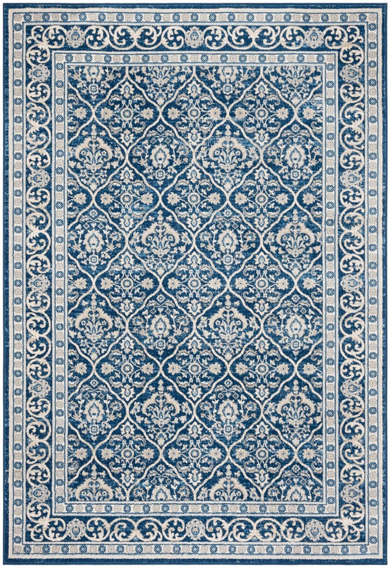 Safavieh Rugs Brentwood BNT870M Navy | Light Grey