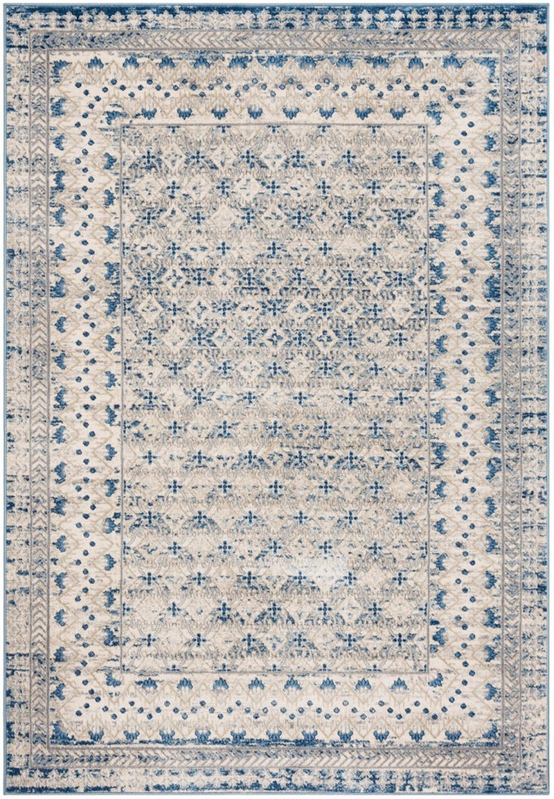 Safavieh Rugs Brentwood BNT899G Light Grey | Blue