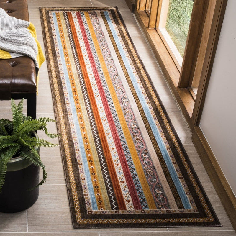 Safavieh Rugs Bokhara BOK137T Brown | Yellow