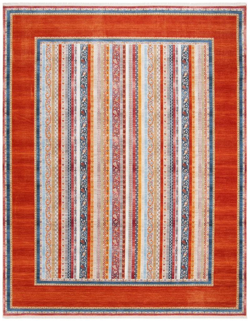Safavieh Rugs Bokhara BOK138P Orange | Blue