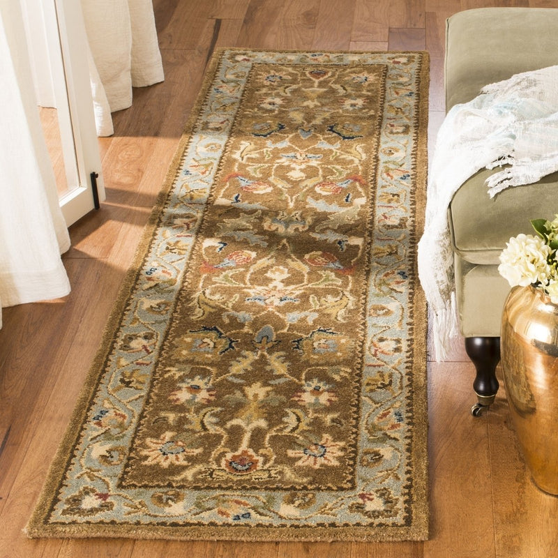 Safavieh Rugs Bergama BRG161A Brown | Blue
