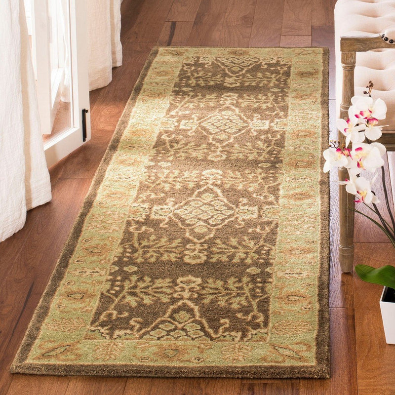 Safavieh Rugs Bergama BRG190B Brown | Green