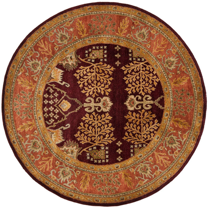 Safavieh Rugs Bergama BRG190C Red | Rust