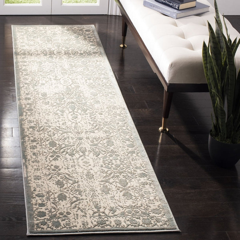 Safavieh Rugs Brilliance BRL502A Cream | Sage