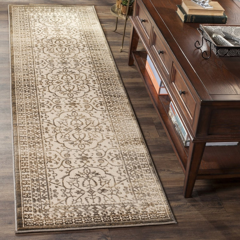 Safavieh Rugs Brilliance BRL508D Cream | Bronze