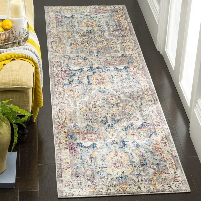 Safavieh Rugs Bristol BTL347A Grey | Blue