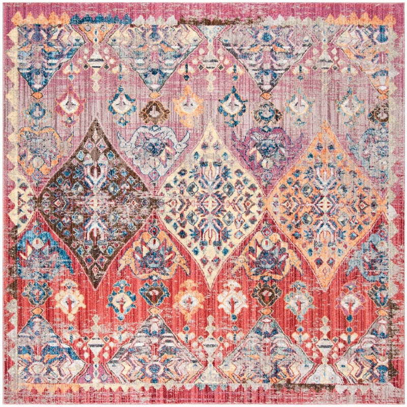 Safavieh Rugs Bristol BTL352R Rose | Multi