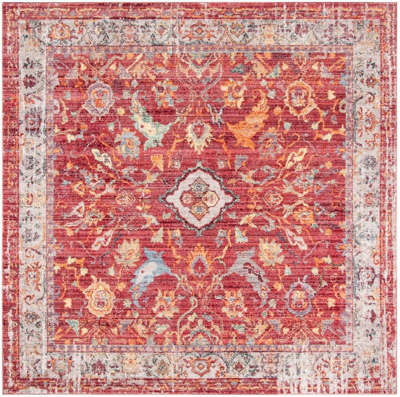 Safavieh Rugs Bristol BTL361R Rose | Light Grey