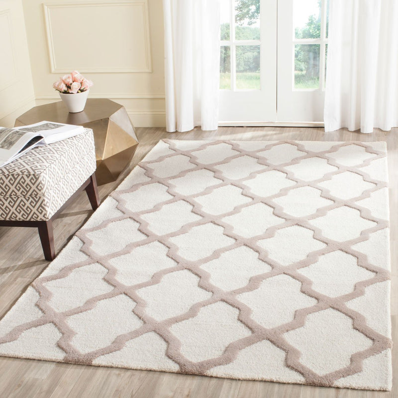 Safavieh Rugs Cambridge CAM121P Ivory | Beige