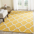 Safavieh Rugs Cambridge CAM121Q Gold | Ivory