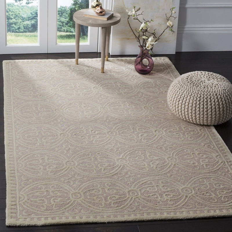 Safavieh Rugs Cambridge CAM123M Light Pink | Ivory