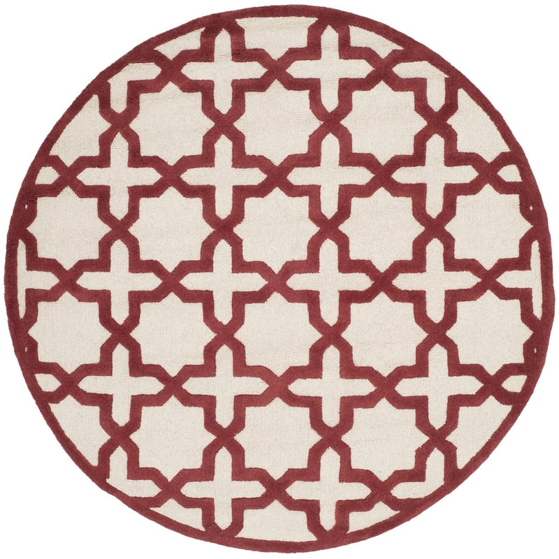 Safavieh Rugs Cambridge CAM125I Ivory | Rust