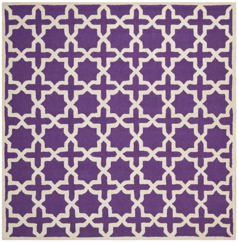 Safavieh Rugs Cambridge CAM125K Purple | Ivory