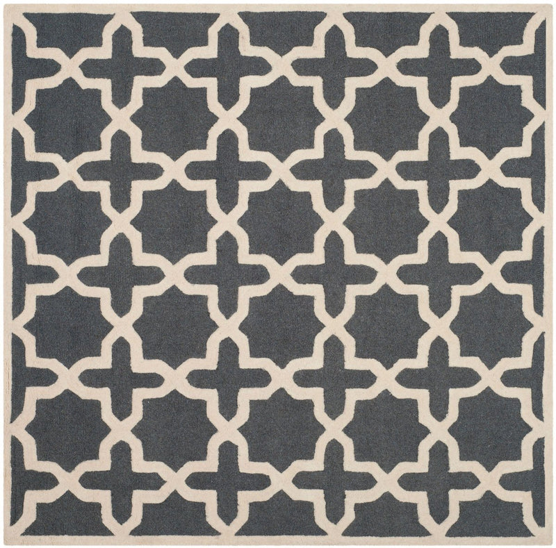 Safavieh Rugs Cambridge CAM125X Dark Grey | Ivory
