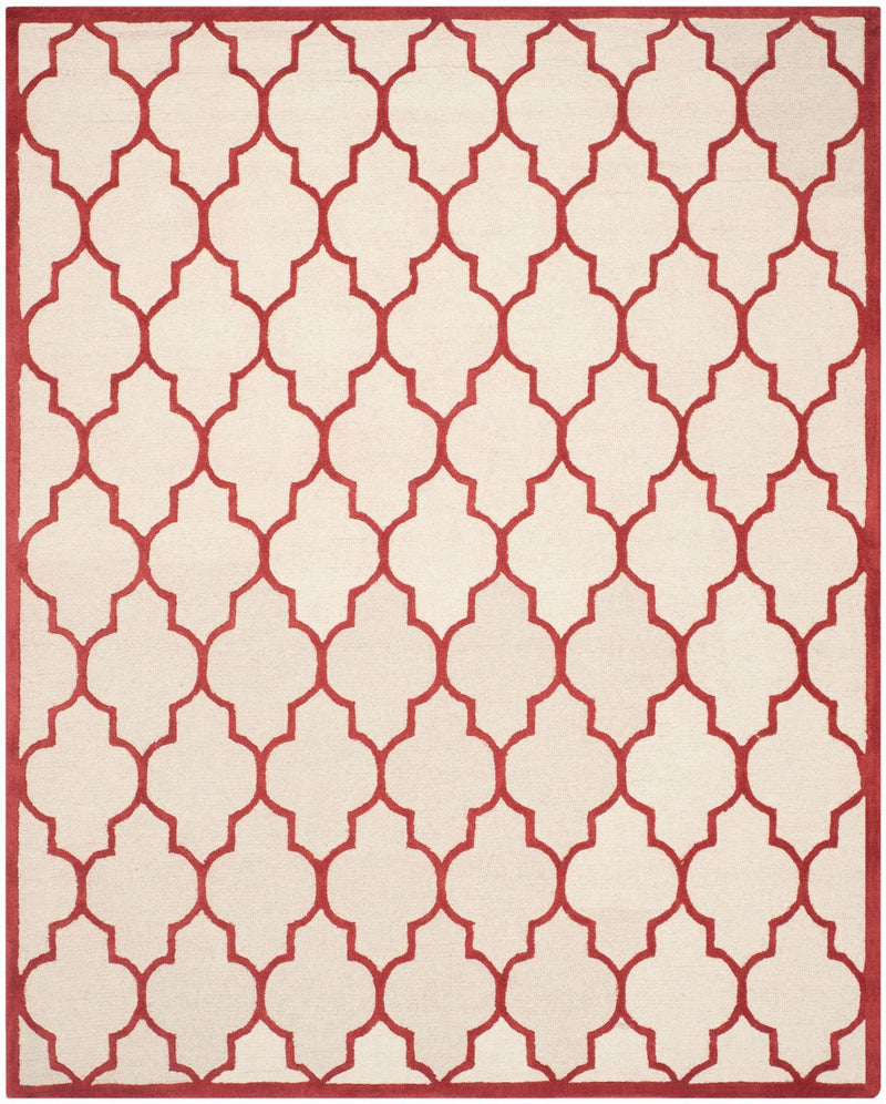 Safavieh Rugs Cambridge CAM134I Ivory | Rust
