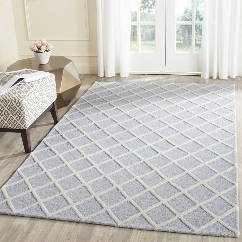 Safavieh Rugs Cambridge CAM135A Light Blue | Ivory