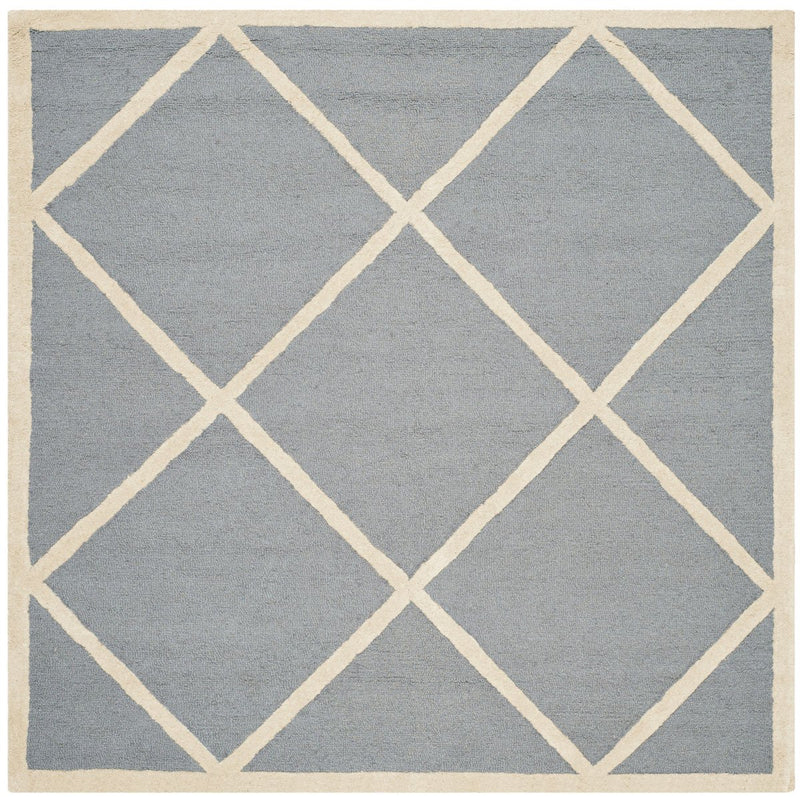 Safavieh Rugs Cambridge CAM136D Silver | Ivory